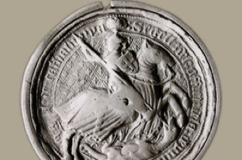 Great Seal of the General Council of the Principality of Catalonia (15th c.)  (s. XV)